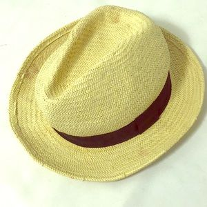 Old Navy Straw Panama Hat L/XL
